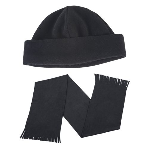 Default image for the Barron Clothing Clothing Glacier Scarf and Beanie Set