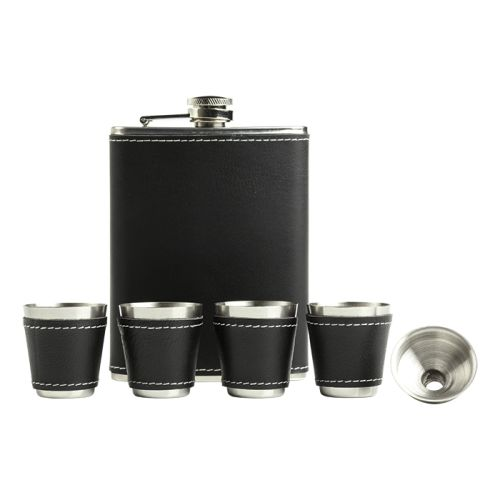 Default image for the Barron Clothing Clothing Hip Flask Gift Set