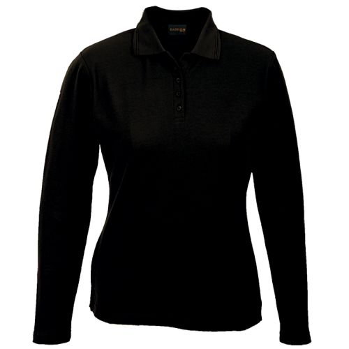 Default image for the Barron Clothing Clothing Ladies 175g Pique Knit Long Sleeve Golfer