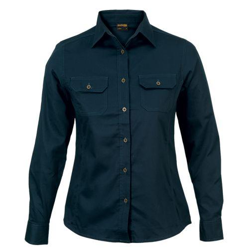 Default image for the Barron Clothing Clothing Ladies Bush Shirt Long Sleeve (LLO-LBUSH)