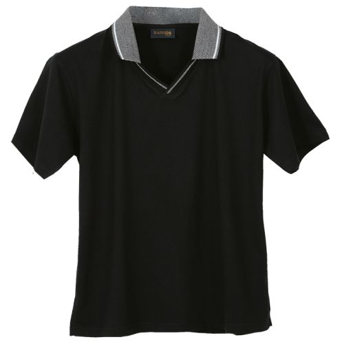 Default image for the Barron Clothing Clothing Ladies Jacquard Collar Golfer