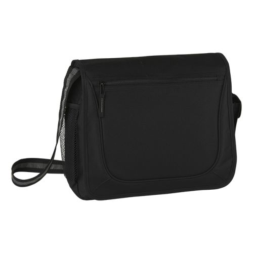 Default image for the Barron Clothing Clothing Messenger Bag with Coloured Stripe Strap