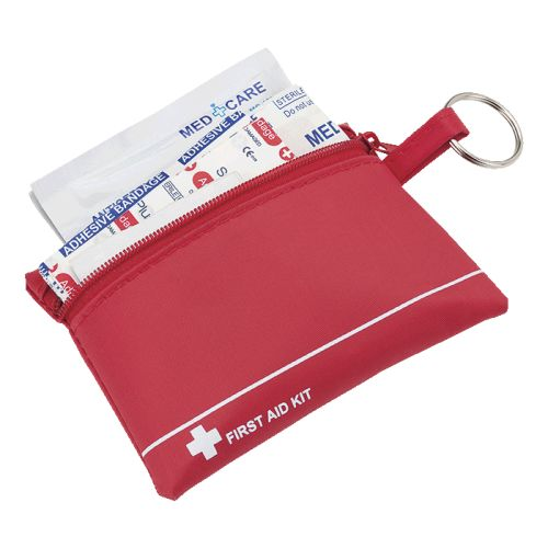 Default image for the Barron Clothing Clothing Mini First Aid Kit in Zip Pouch
