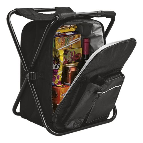 Default image for the Barron Clothing Clothing Picnic Chair Backpack Cooler - 420D - 600D - PEVA Lining