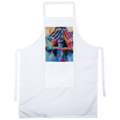 Default image for the Barron Clothing Clothing Sublimated Full Length Apron