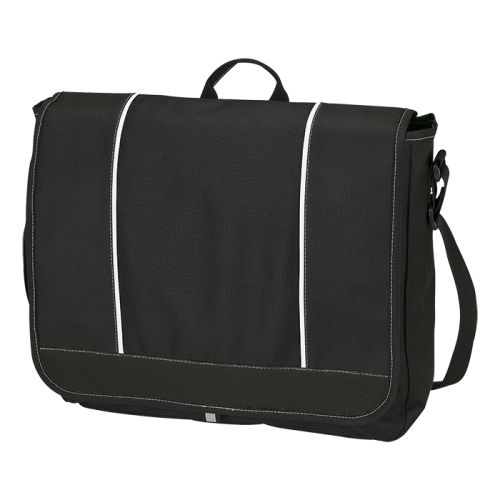 Default image for the Barron Clothing Clothing Top Flap Messenger Bag - 600D Poly