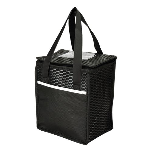 Default image for the Barron Clothing Clothing Wave Design Lunch Cooler - Non-Woven