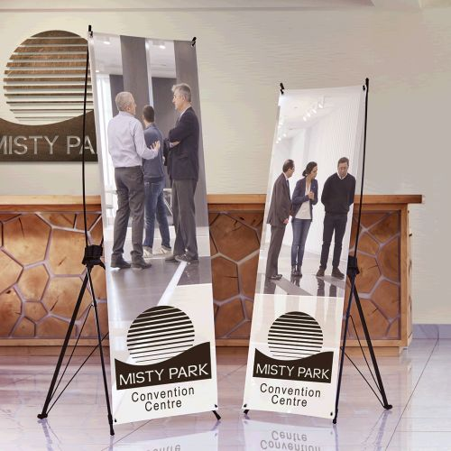 Default image for the Barron Clothing Clothing X-Frame Banner with Hooks