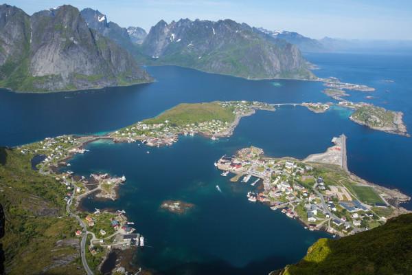 Reinebringen Norwegen