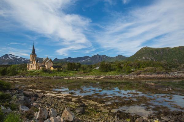 Lofoten Norwegen Stadt