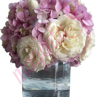 Arreglo floral para bodas Venue Rosa