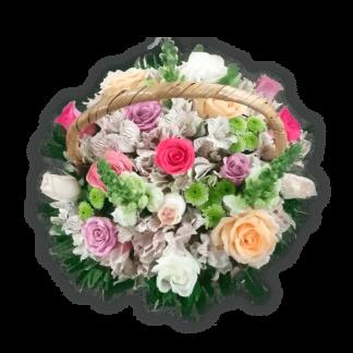 Arreglo floral gratitud