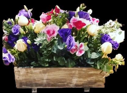 Jardinera floral Vintage