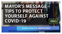 Mayor's Message - Tips to Protect Yourself Against COVID-19