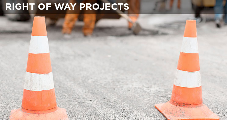 Right of Way Projects
