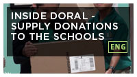 Inside Doral - Supply Donations to the Schools