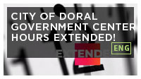 City of Doral Government Center Hours Extended!