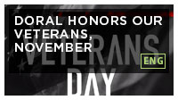 Doral Honors our Veterans, November