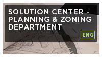 City of Doral Solution Center - Planning & Zoning Department