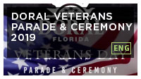 Doral Veterans Parade & Ceremony 2019