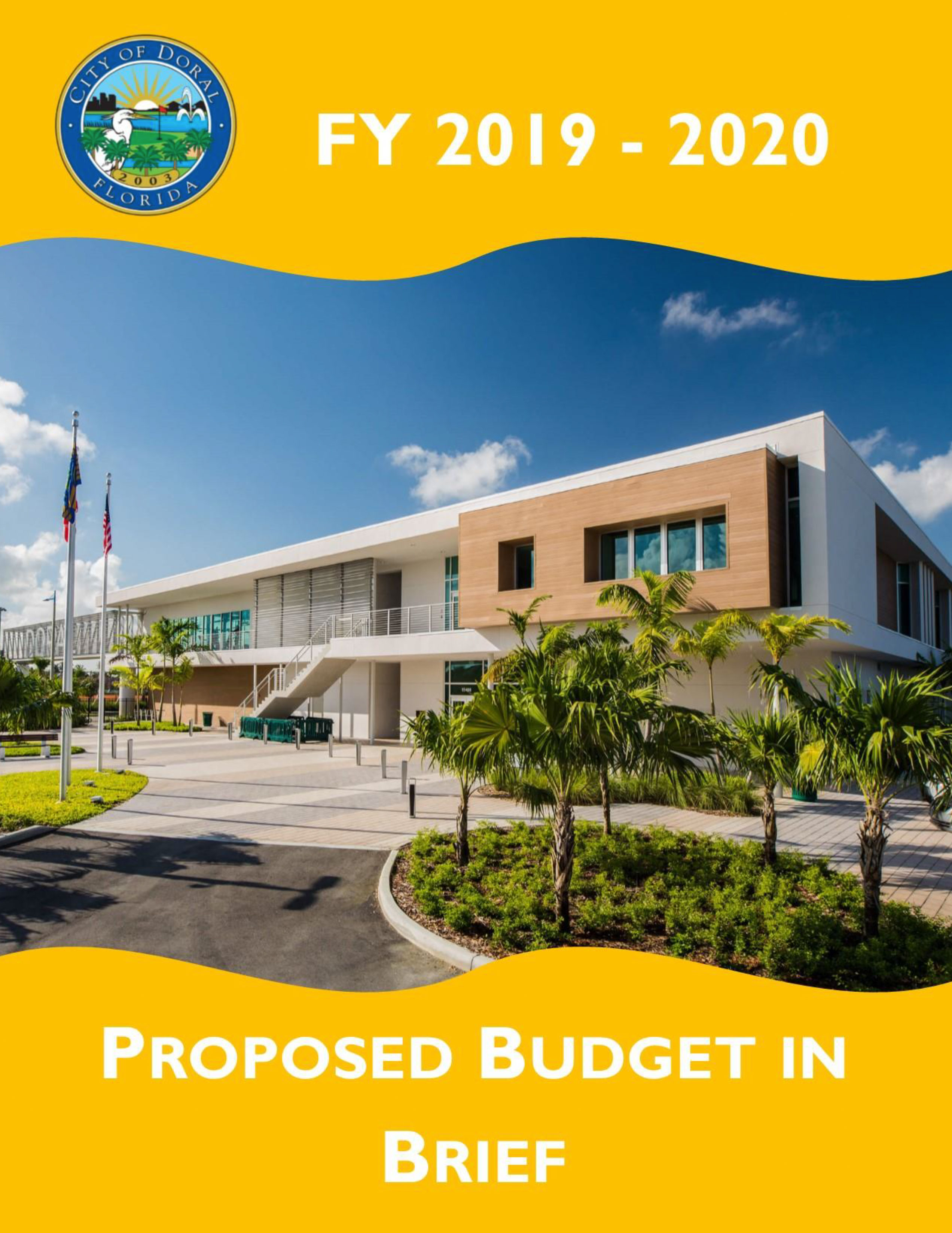 Adopted Budget Cover