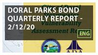 Doral Parks Bond Quarterly Report - 2/12/20