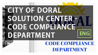 City of Doral Solution Center - Code Compliance Department