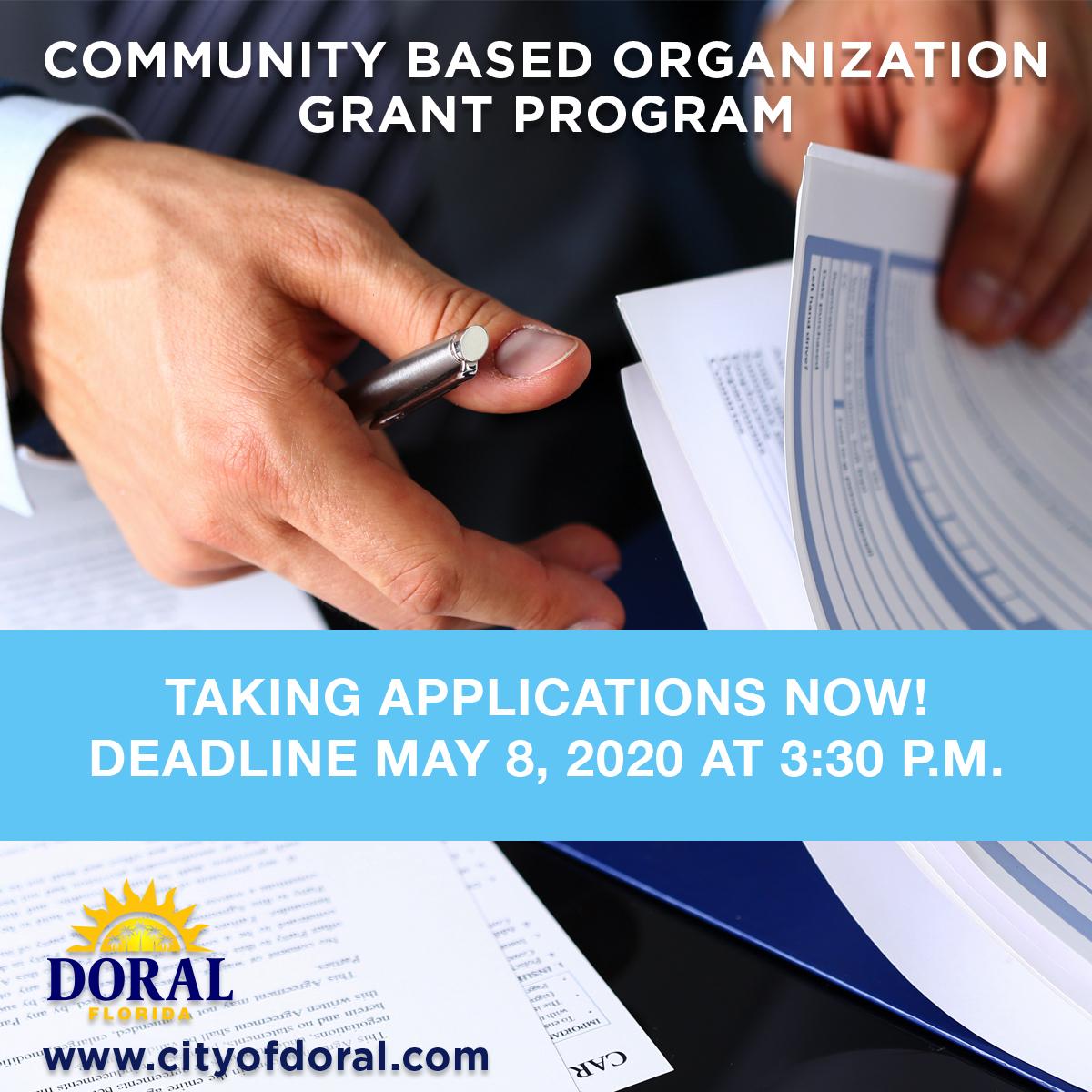 Community Based Organization Grant
