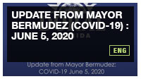Update from Mayor Bermudez (COVID-19) : June 5, 2020