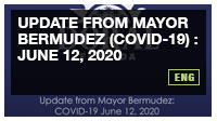 Update from Mayor Bermudez (COVID-19) : June 12, 2020