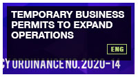 Temporary Business Permits to Expand Operations