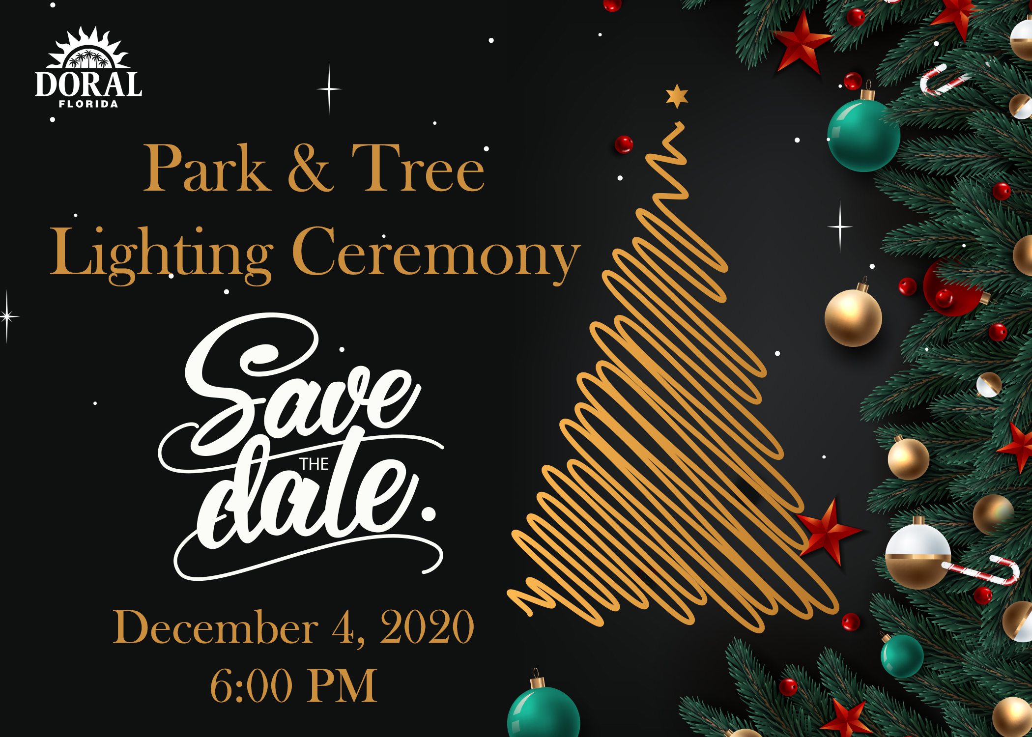 Park and Tree Lighting Ceremony
