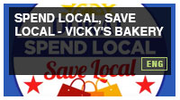 Spend Local, Save Local - Vicky's Bakery