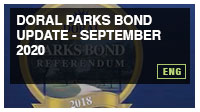 Doral Parks Bond Update - September 2020