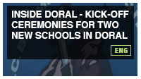 Kick-off ceremonies for two new schools in Doral