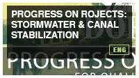 Progress on Projects: Stormwater & Canal Stabilization
