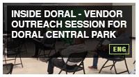 Inside Doral - Vendor Outreach Session for Doral Central Park