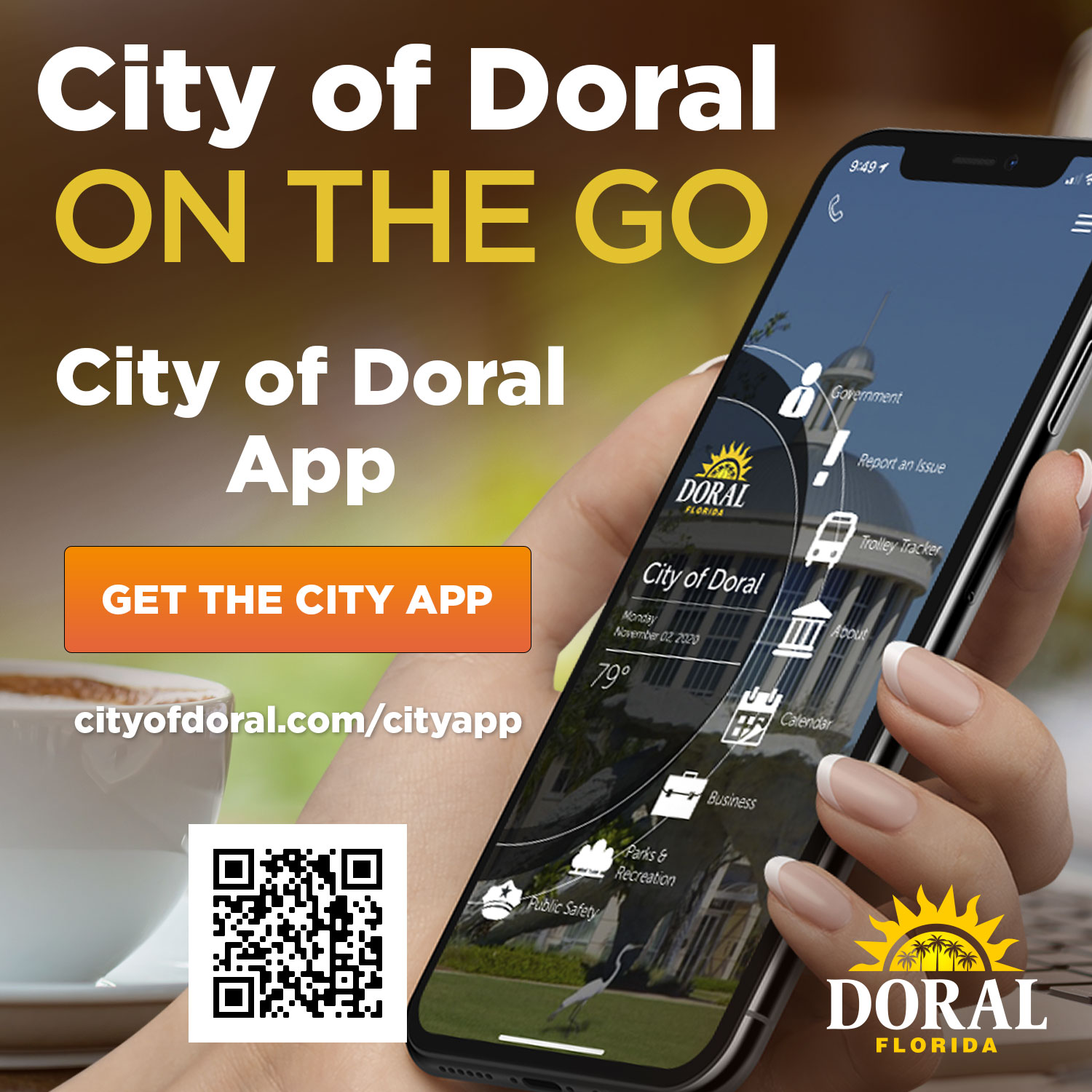 Download the City of Doral Official App!