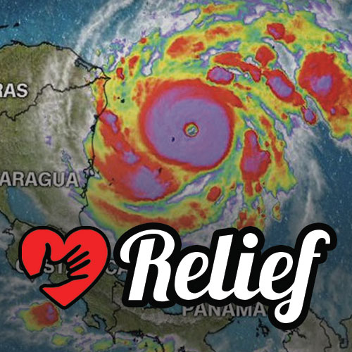 Hurricane Relief for countries devastated by Hurricane Iota