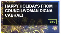 Happy Holidays from Councilwoman Digna Cabral!