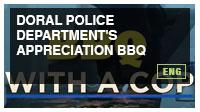Doral Police Department's Appreciation BBQ