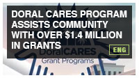 Doral CARES Program Assists Community with Over $1.4 Million in Grants