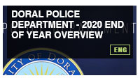 Doral Police Department - 2020 End of year Overview
