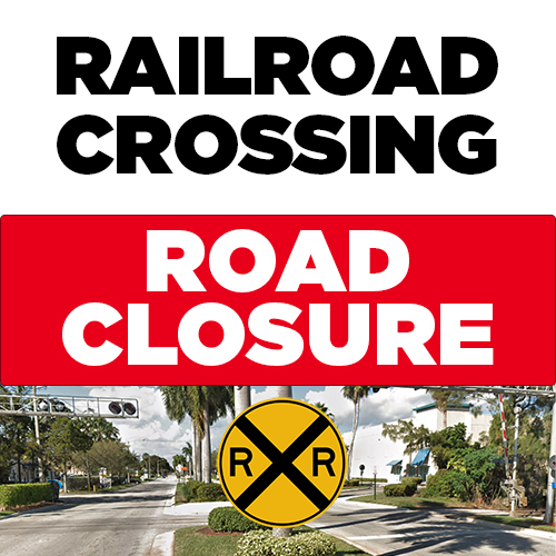 Railroad Crossing Closure - NW 84 Ave. and 12 St.