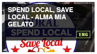 Spend Local, Save Local - Alma Mia Gelato
