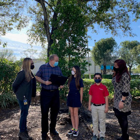 Doral Celebrates Arbor Day and is Recognized as Tree City USA!