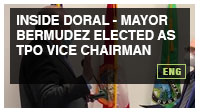 Inside Doral - Mayor Bermudez Elected as TPO Vice Chairman