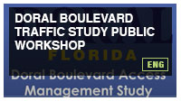 Doral Boulevard Traffic Study Public Workshop