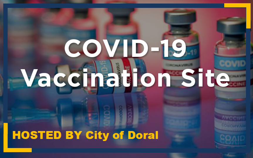 COVID-19 Vaccines Available in Doral on March 26th