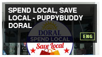 Spend Local, Save Local - PuppyBuddy Doral